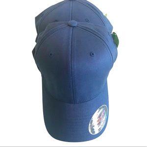 NWT Flexfit Hat Bamboo Navy